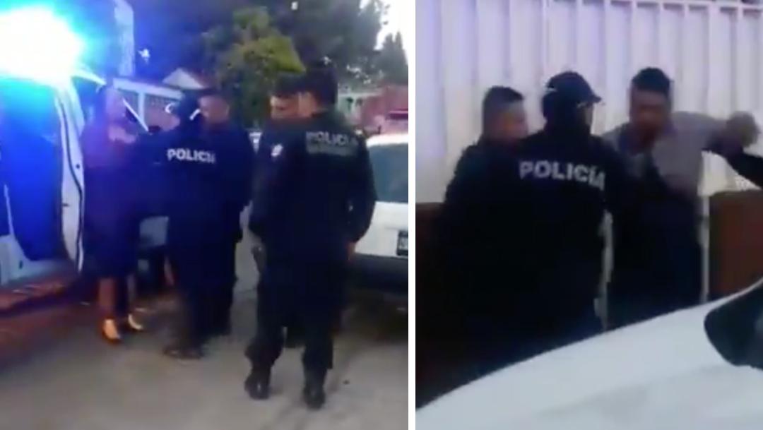 Policías arrestan a presunta enferma de cáncer en Naucalpan
