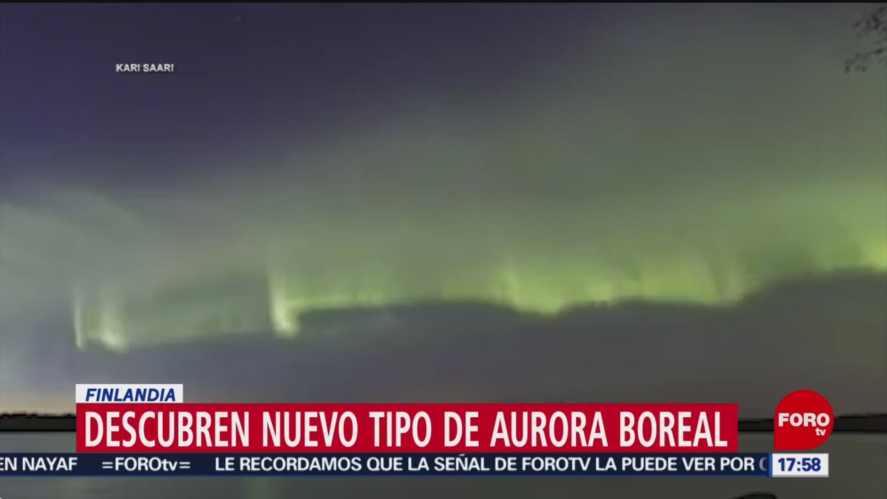 FOTO: descubren nuevo tipo de aurora boreal en finlandia