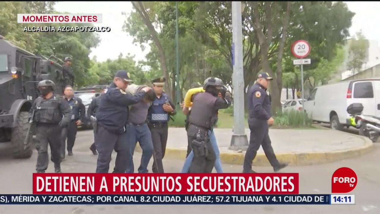 FOTO: 2 Febrero 2020, detienen a dos presuntos secuestradores en magdalena contreras