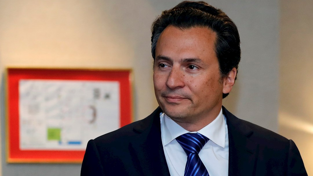Fotografía del exdirector de Pemex, Emilio Lozoya, 17 de septiembre de 2017
