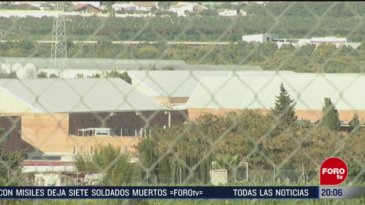 Foto: Emilio Lozoya Prisión Recluido Málaga España 14 Febrero 2020