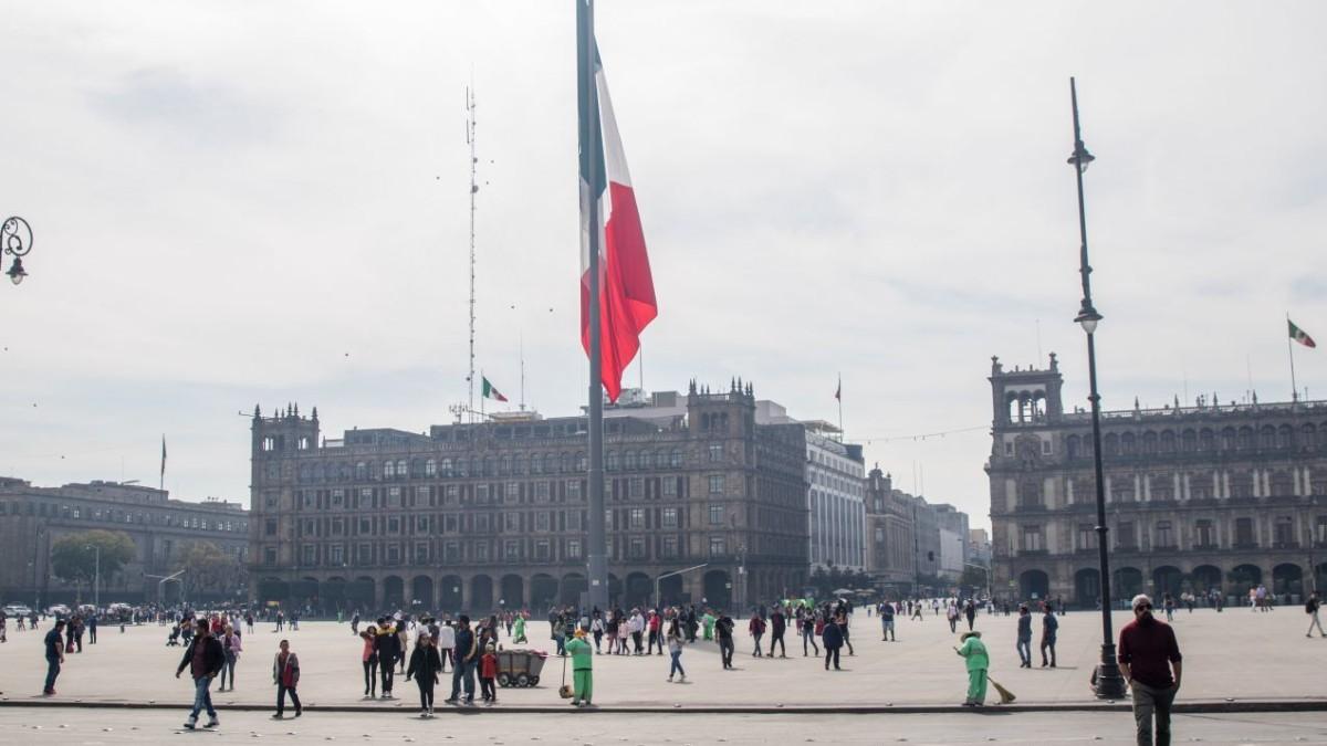 Foto: Zócalo de la Ciudad de México. Cuartoscuro