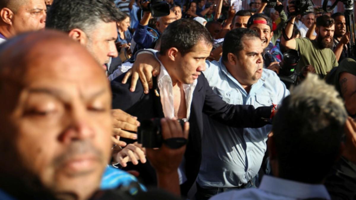 Foto: Juan Guaidó, reconocido como presidente interino de Venezuela por más de 50 países. Reuters