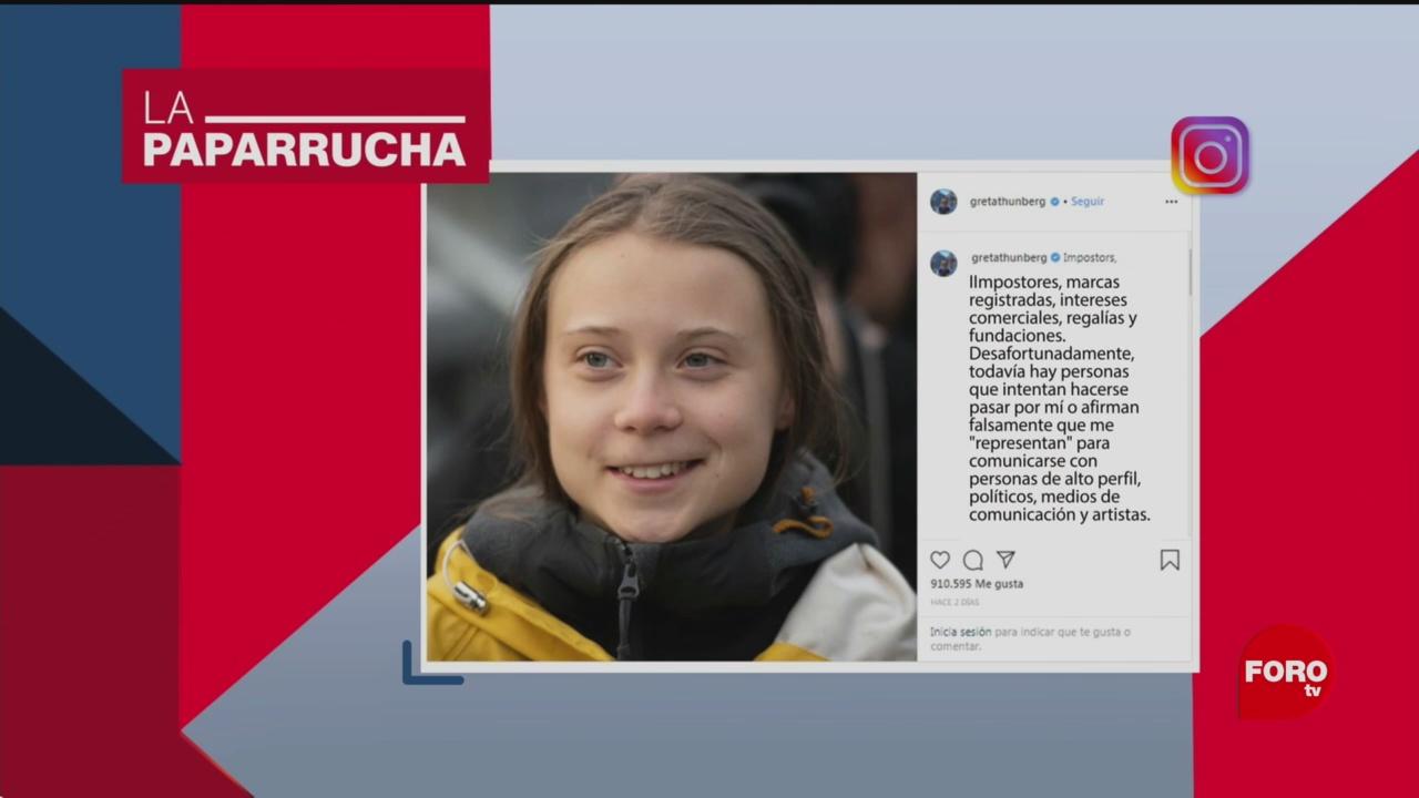 Foto: Greta Thunberg Registra Marca Comercial Noticias Falsas 30 Enero 2020