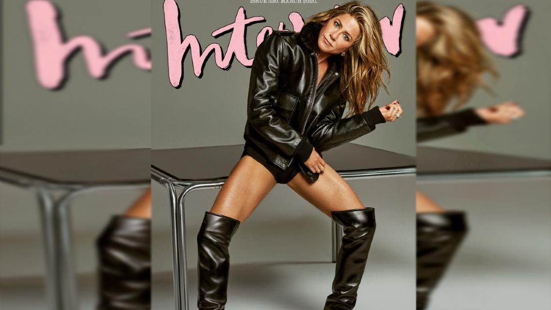 Foto: La actriz Jennifer Aniston cumplió 51 años y lo festeja con la portada de la revista Interview Magazine, 12 febrero 2020