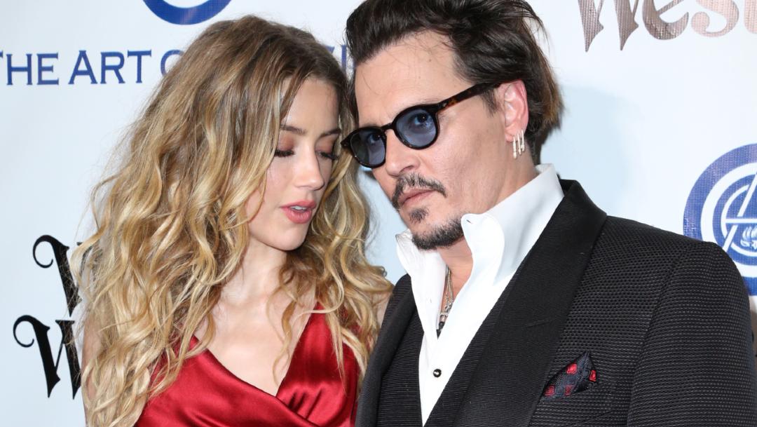 Foto: El actor Johnny Depp y la actriz Amber Heard, en la novena gala anual The Art of Elysium's.