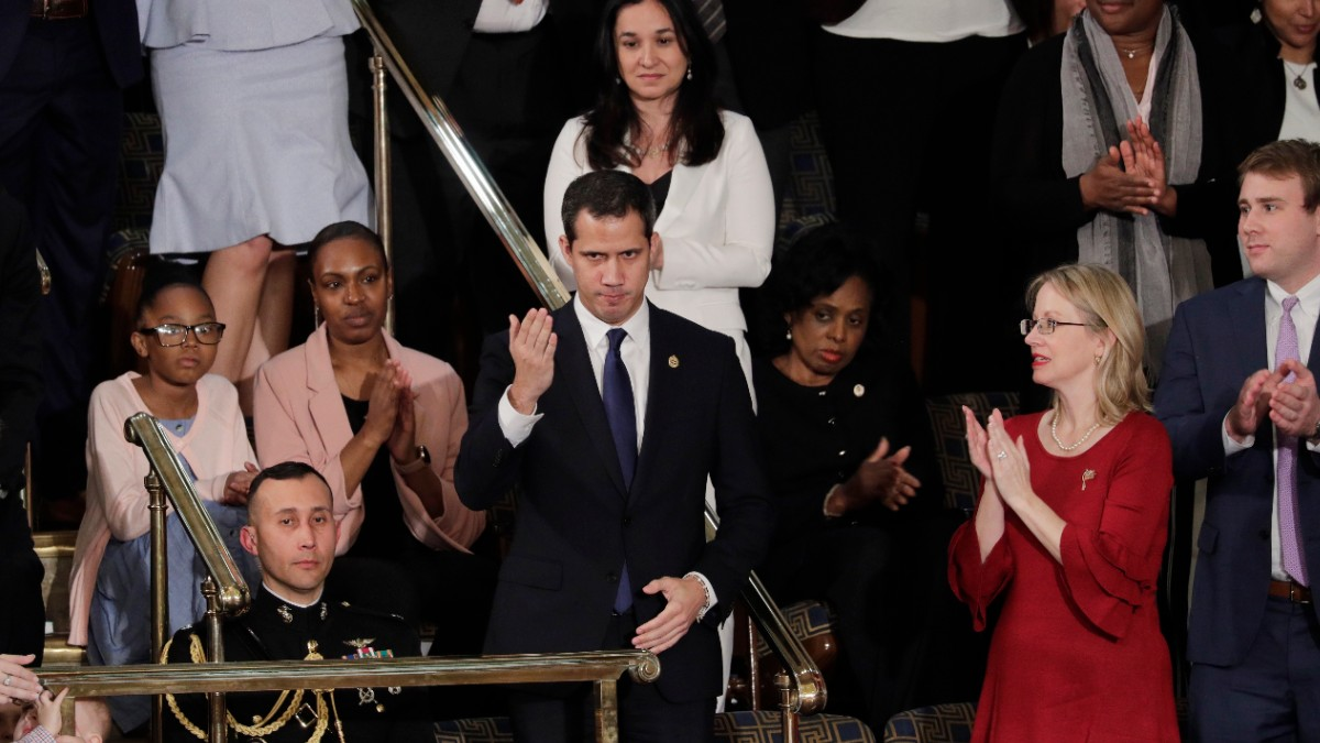 Juan Guaidó fue invitado a discurso de Trump