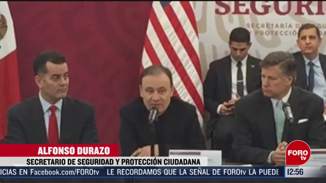 mexico y estados unidos analizan como reforzar combate a trafico de armas y drogas