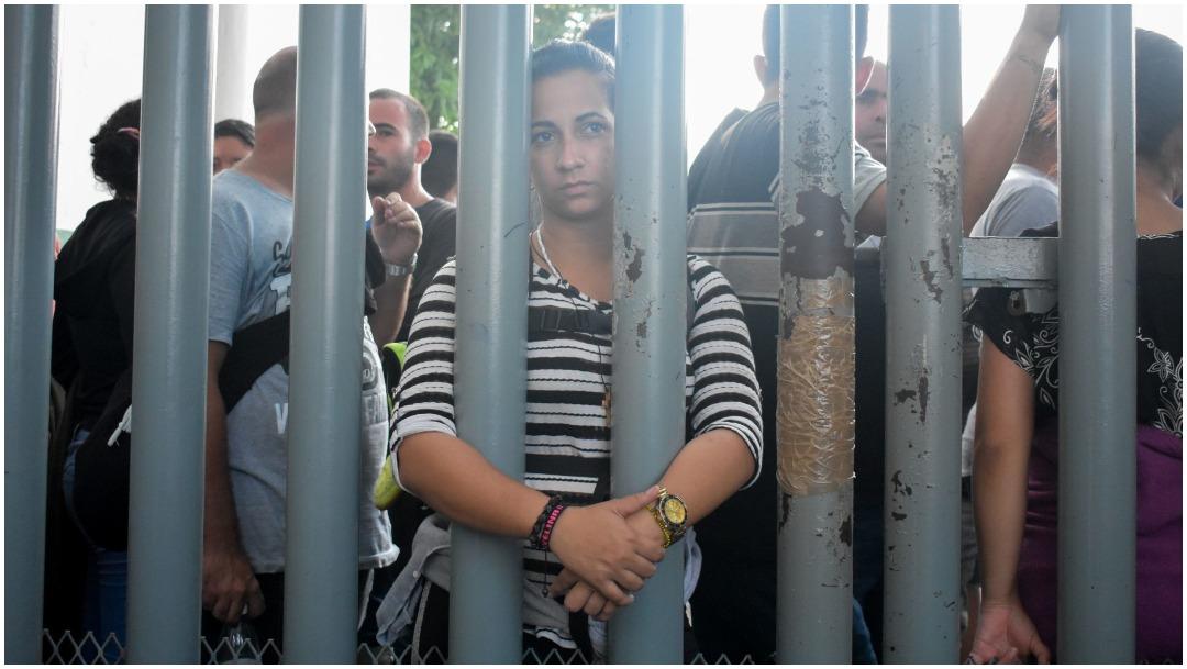 Imagen: INM deberá informar situación de migrantes, 23 de febrero de 2020 (DAMIÁN SÁNCHEZ /CUARTOSCURO.COM)
