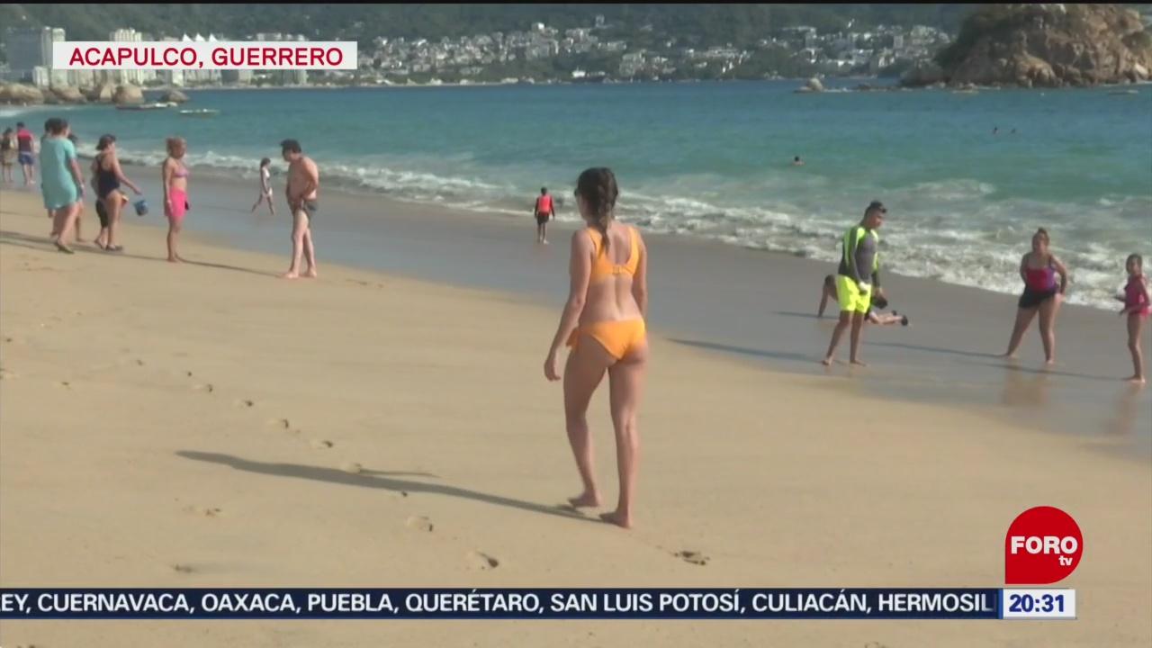 FOTO: 1 Febrero 2020, miles de turistas disfrutan en acapulco primer megapuente de