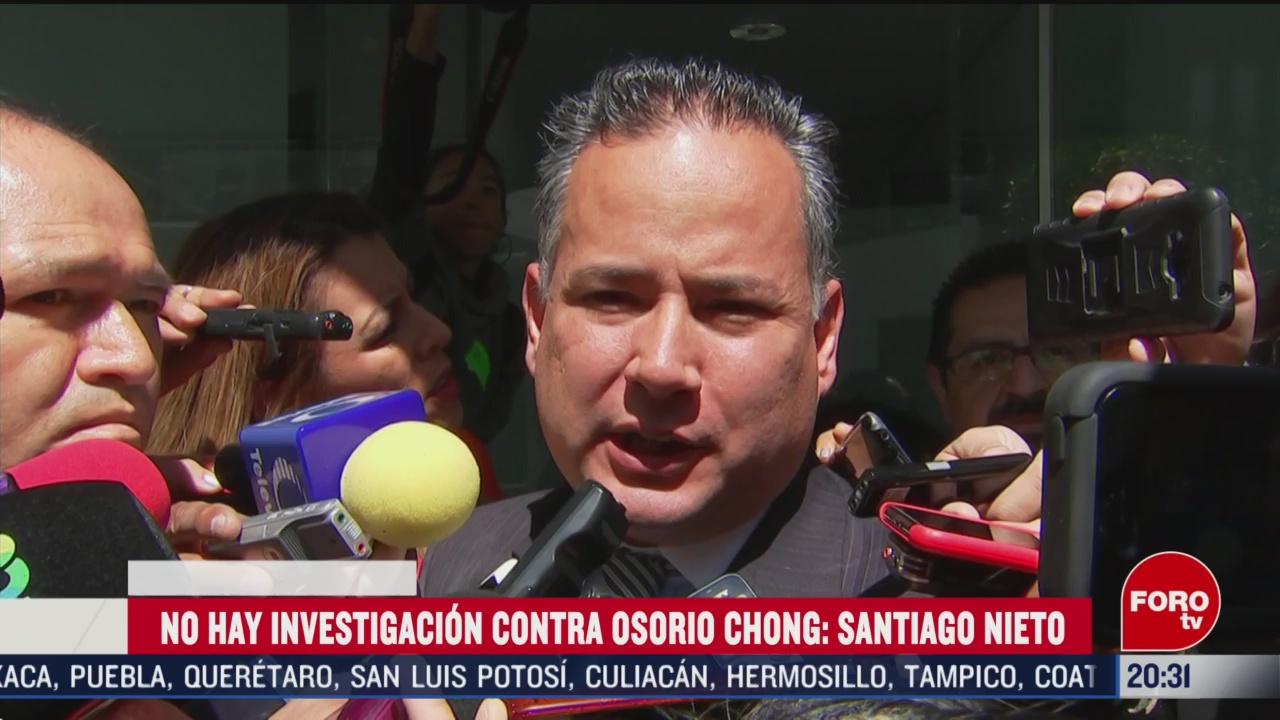Foto: Osorio Chong No Hay Investigación Asegura Santiago Nieto 27 Febrero 2020