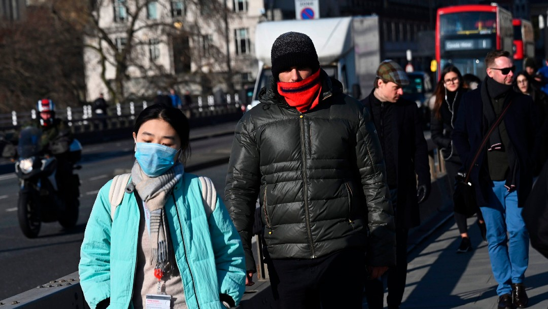 Foto: Reino Unido declara al coronavirus como amenaza 'grave e inminente'