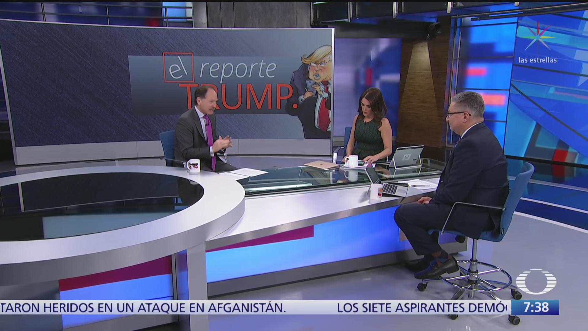 reporte trump resultado del impeachment
