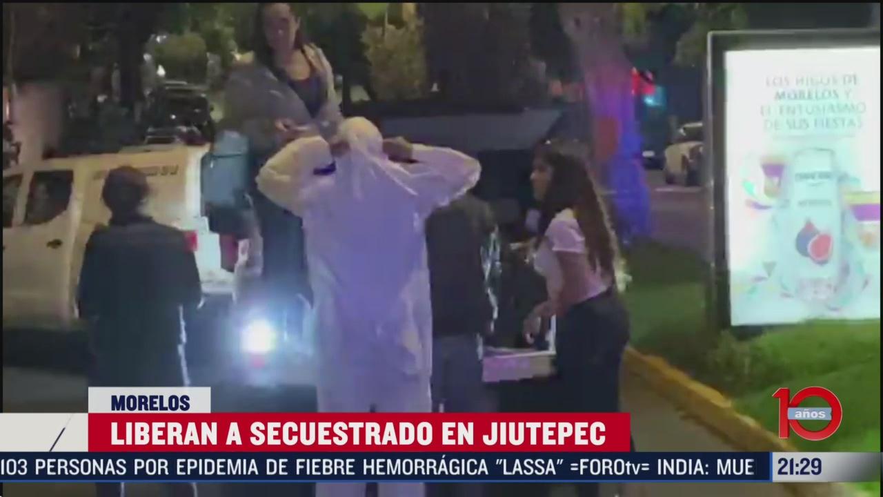 Foto: Rescatan Adrián Fernández Periodista Secuestrado Cuernavaca 20 Febrero 2020