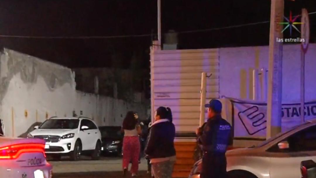 FOTO Roban 14 autos de dos estacionamientos públicos en la CDMX (Noticieros Televisa)
