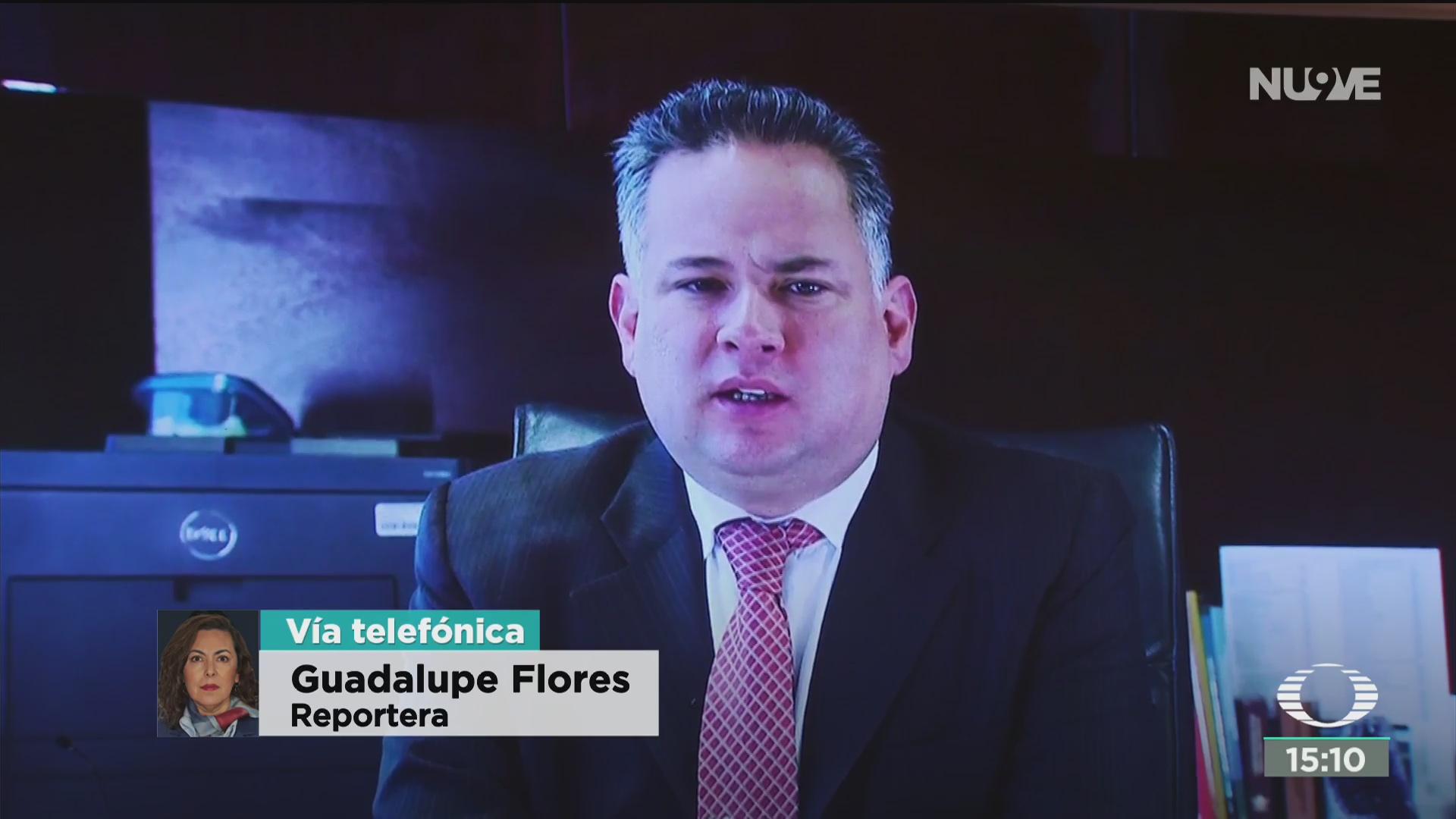 santiago nieto reconoce a fgr por detencion de lozoya