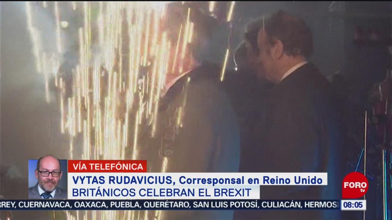 FOTO: 1 Febrero 2020, se consuma el brexit reino unido se emancipa de la union europea