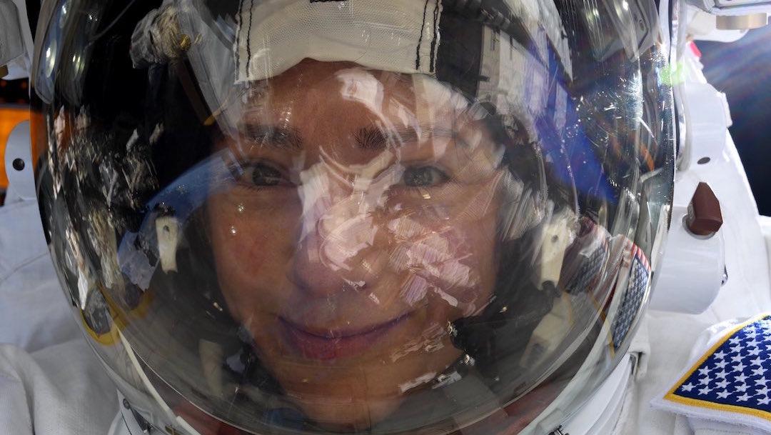 Foto Astronauta Selfie 4 Febrero 2020