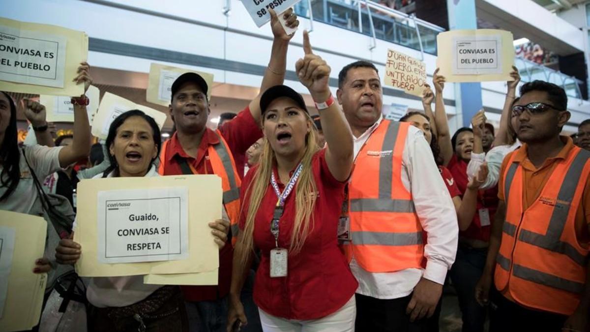 Regreso de Juan Guaidó a Venezuela desata enfrentamientos