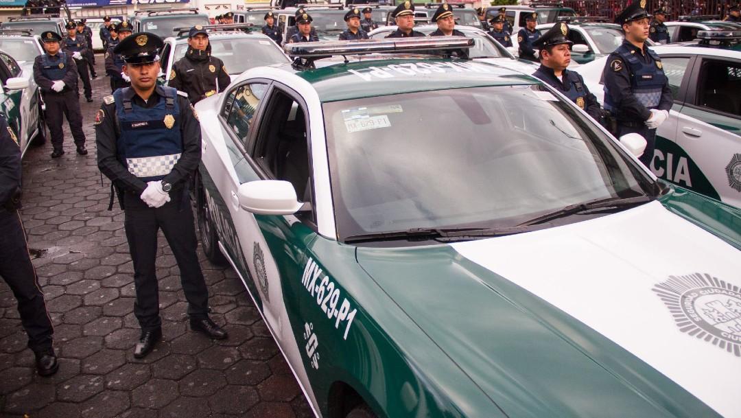 Imagen: Los oficiales fueron informados por un ciudadano que dos sujetos, con lujo de violencia, lo despojaron a él y a otras dos personas de sus pertenencias