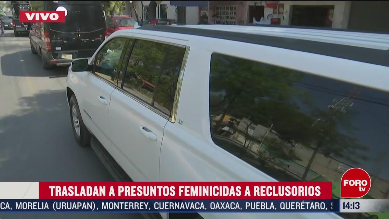 FOTO: trasladan a presuntos feminicidas de nina fatima a reclusorios