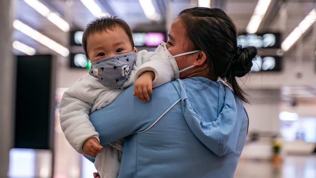 Foto Cubrebocas Enfermar Coronavirus 27 Febrero 2020