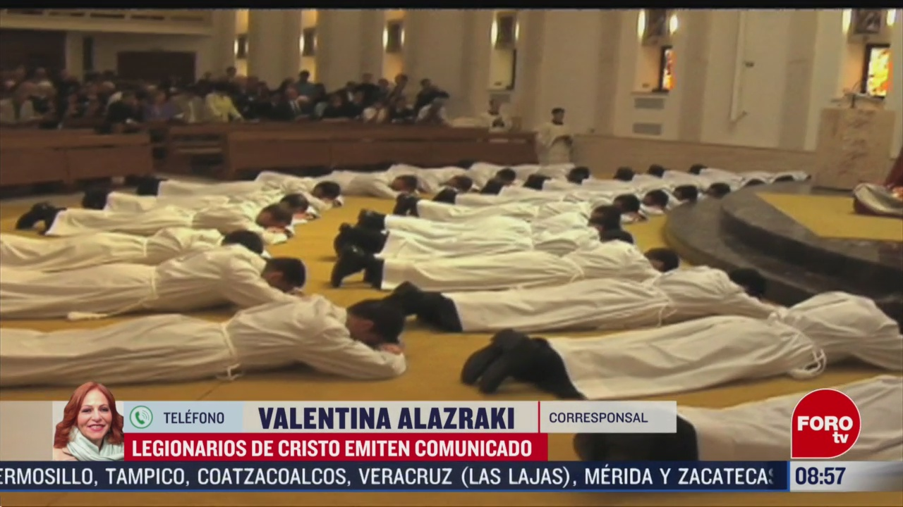 FOTO: 29 febrero 2020, vaticano anuncia la creacion de la task force