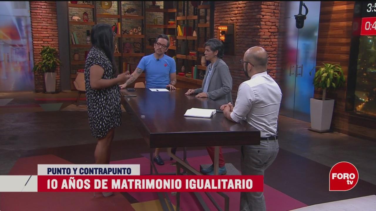 Foto: 10 Años Matrimonio Igualitario México 13 Marzo 2020