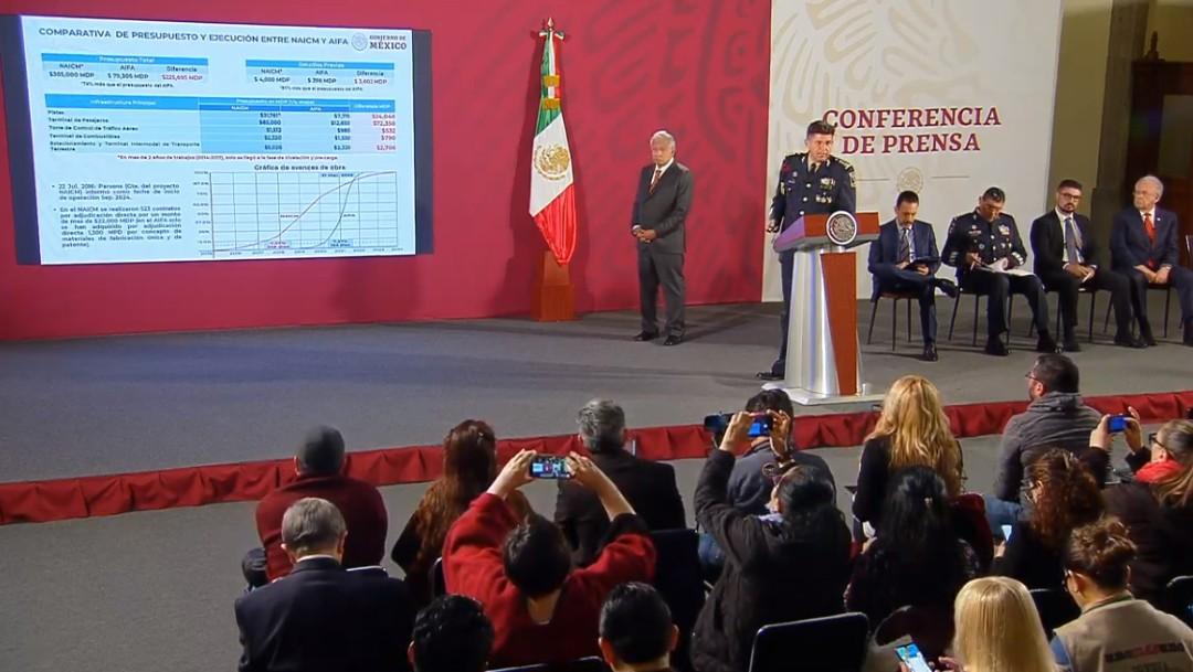 Foto: Aeropuerto de Santa Lucía tiene avance de 7.37%, dice Sedena
