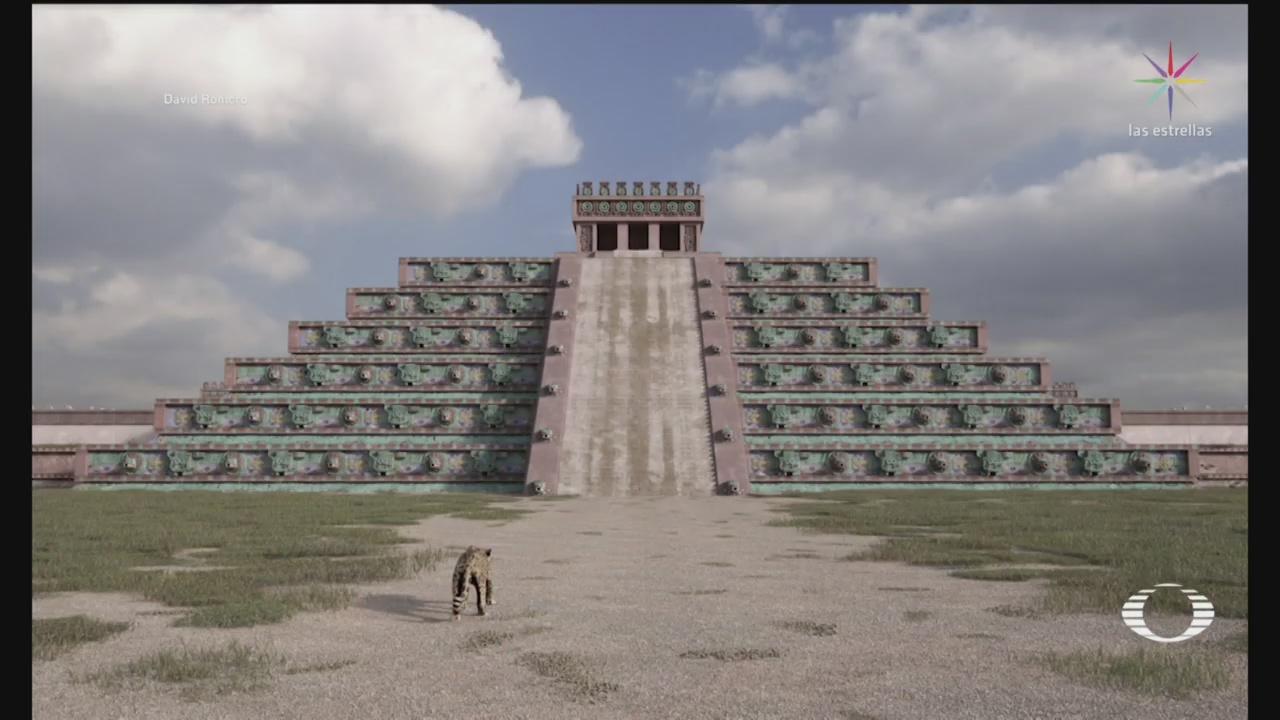 Foto: Arquitecto Recrea Digitalmente Ciudad Antigua Teotihuacán 10 Marzo 2020