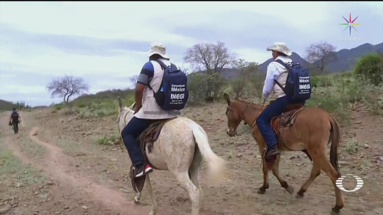 Foto: Arranca Censo Inegi 2020 México 3 Marzo 2020