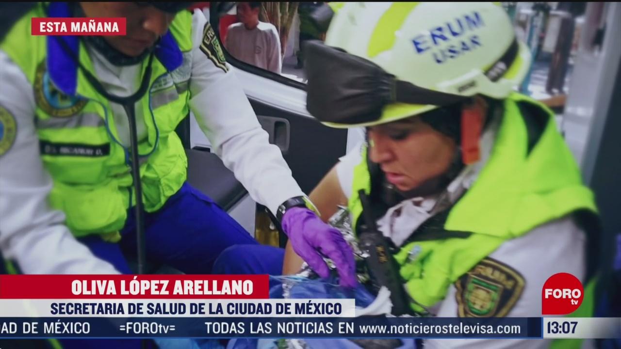 FOTO: bebe rescatada en iztacalco se encuentra estable
