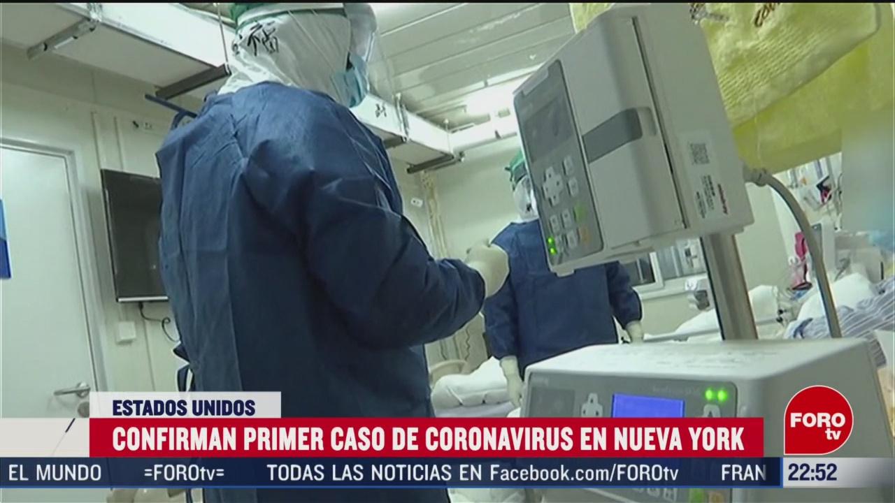 FOTO: 1 marzo 2020, confirman primer caso de coronavirus en nueva york