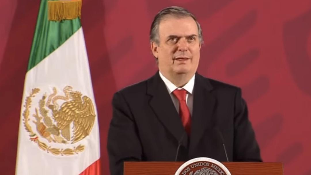 FOTO México, EE.UU. y Canadá aceleran trabajos para que T-MEC entre en vigor en junio: Ebrard (YouTube)