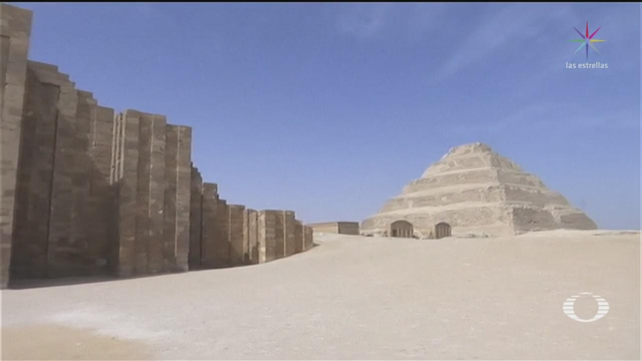 Foto: Pirámide Egipto Reabre Faraón Zoser 5 Marzo 2020