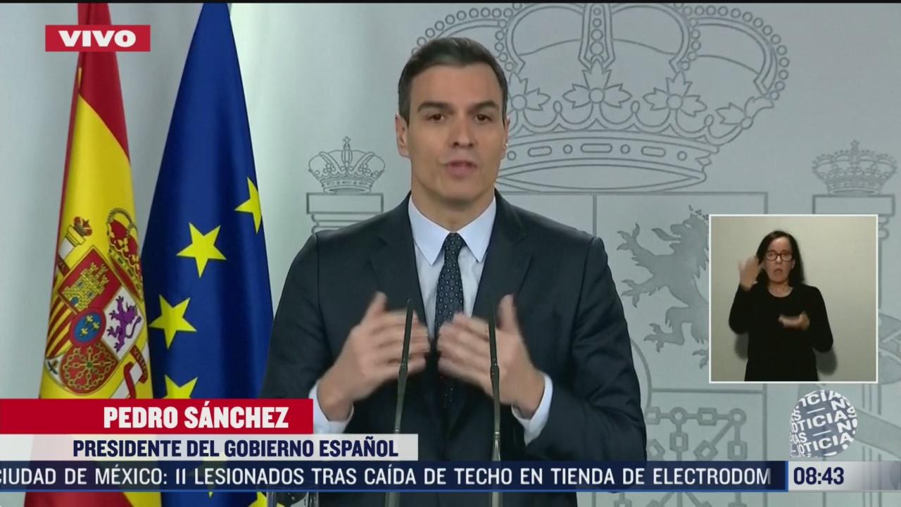 FOTO: 22 marzo 2020, el gobierno espanol trabaja para atender a todos sus ciudadanos