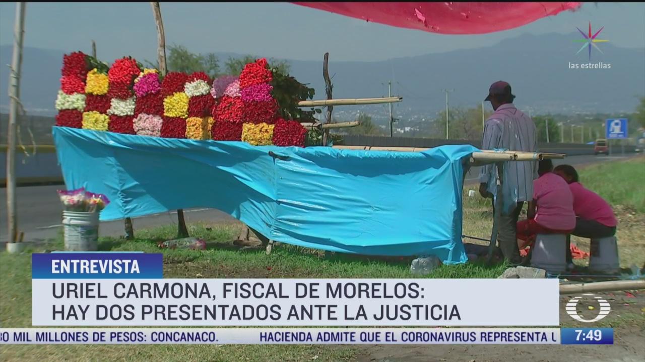 entrevista con fiscal de morelos por homicidio de nina de 3 anos la nina de las rosas