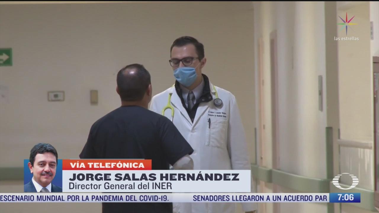 entrevista con jorge salas director del iner por coronavirus en mexico