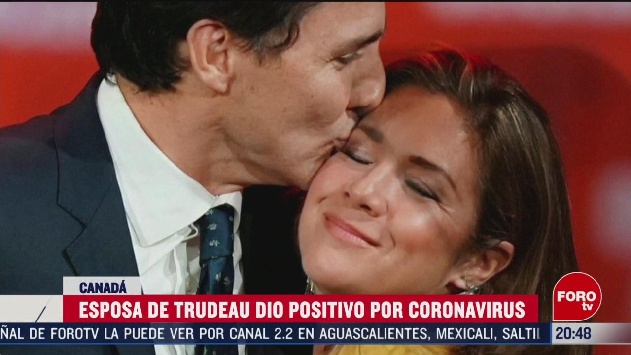 Foto: Esposa Justin Trudeau Canadá Positivo Coronavirus 12 Marzo 2020