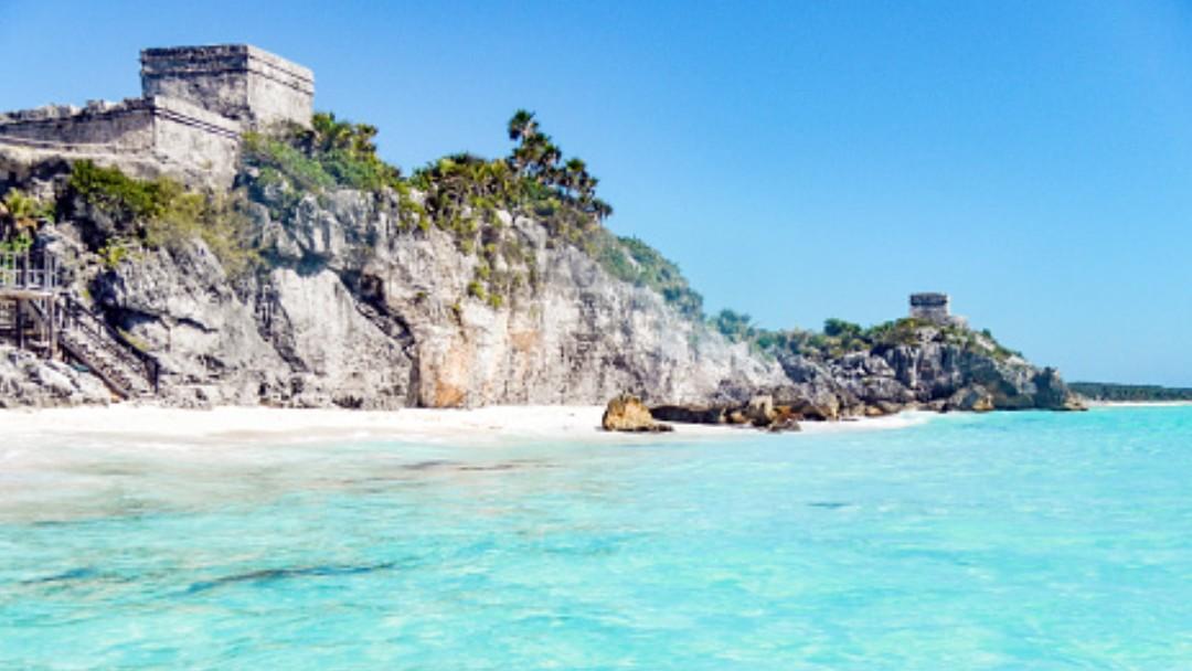 Foto: Playas del Caribe mexicano. Getty Images/Archivo