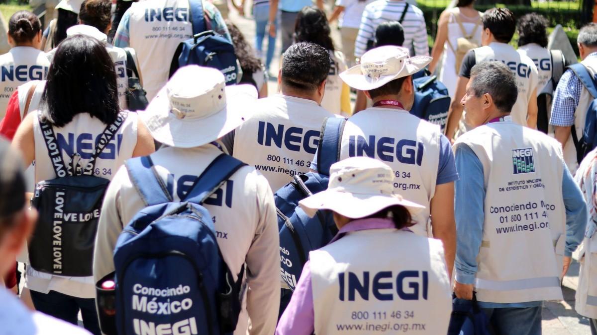 Foto: Encuestadores del Inegi para el Censo 2020. Cuartoscuro