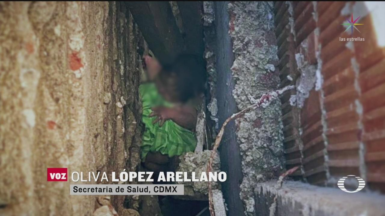 Foto: Identifican Detienen Madre Bebé Abandonada Iztacalco 4 Marzo 2020