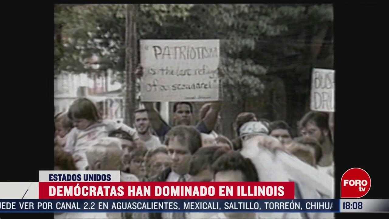FOTO: illinois otro estado con elecciones primarias este martes