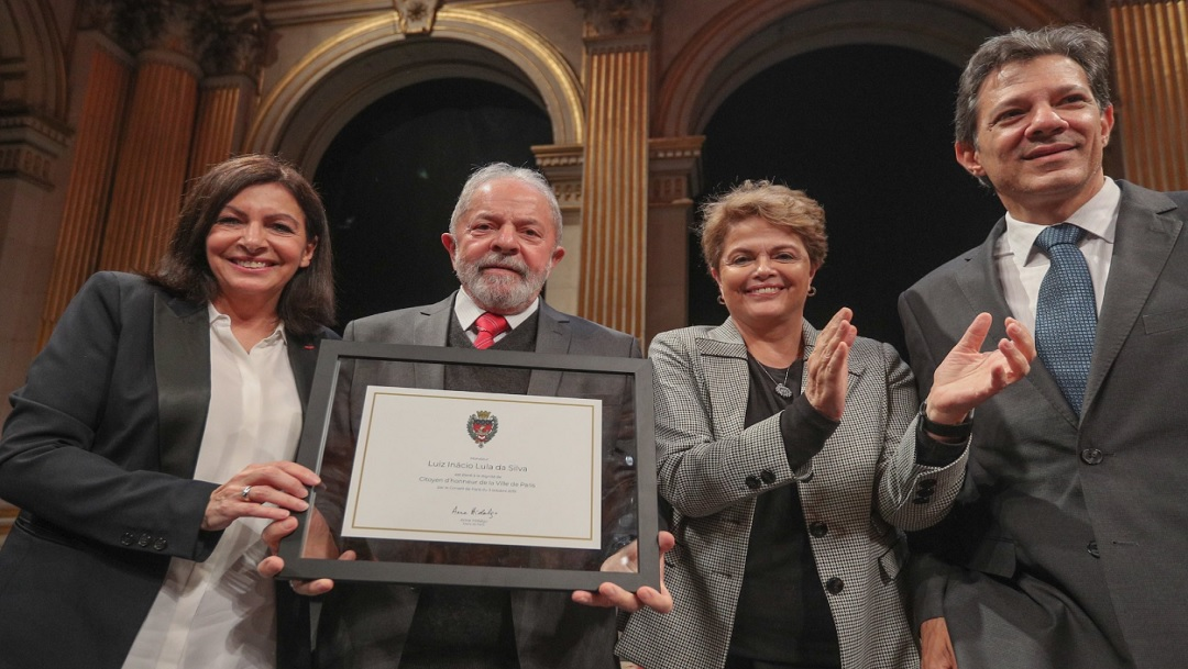 París nombra a Lula da Silva ciudadano de honor
