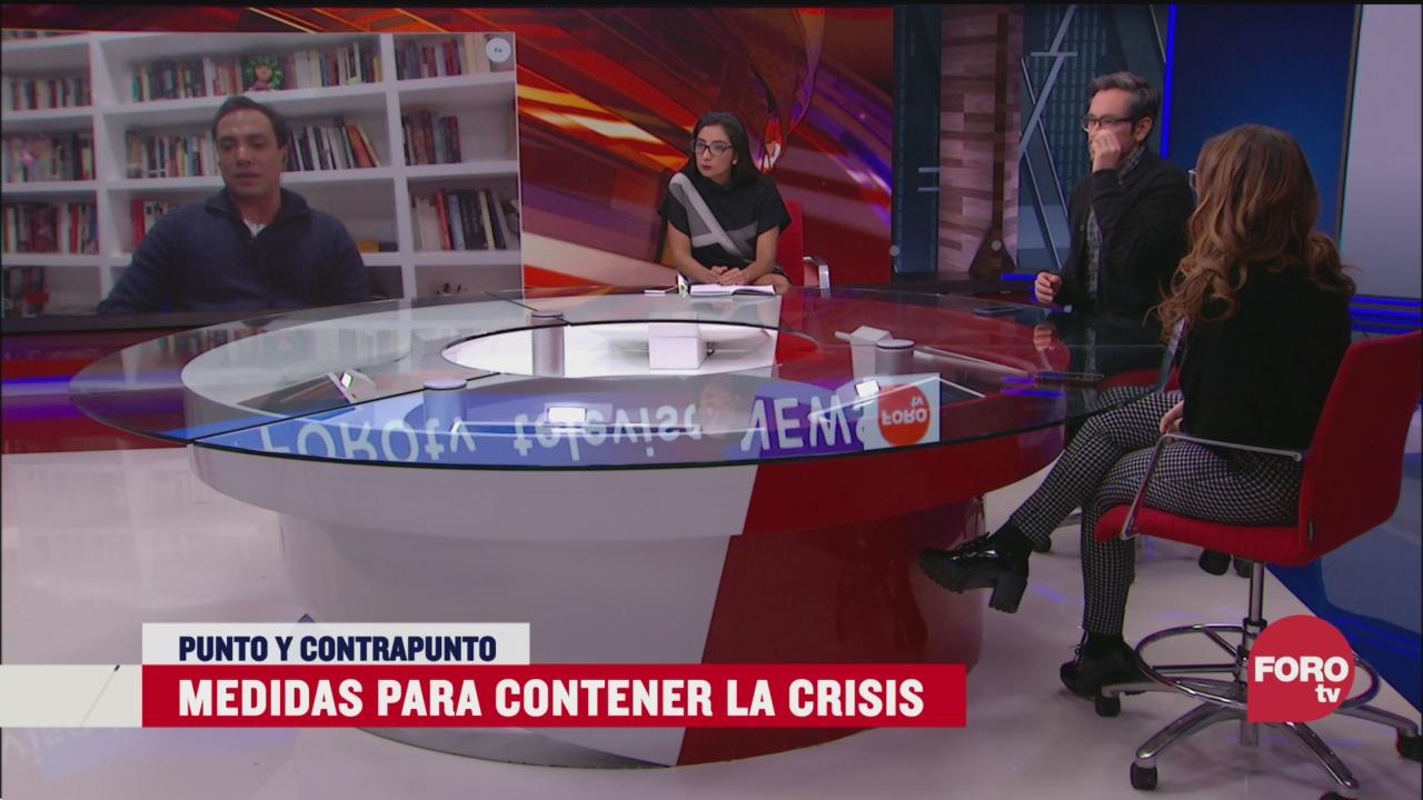 Foto: Medidas Para Contener Crisis Económica Coronavirus 19 Marzo 2020