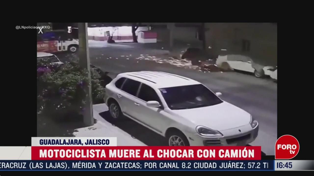 Foto: Motociclista Muere Tras Chocar Camión 6 Marzo 2020