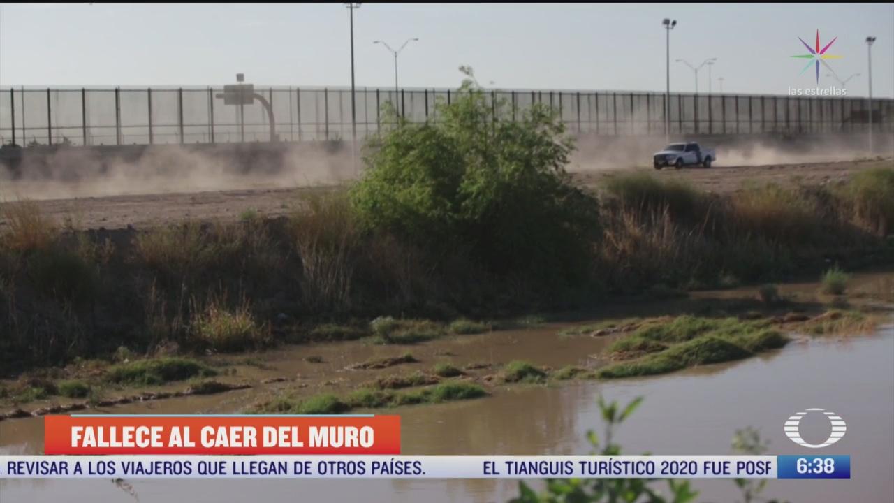 muere guatemalteca embarazada al intentar cruzar muro entre mexico y eeuu