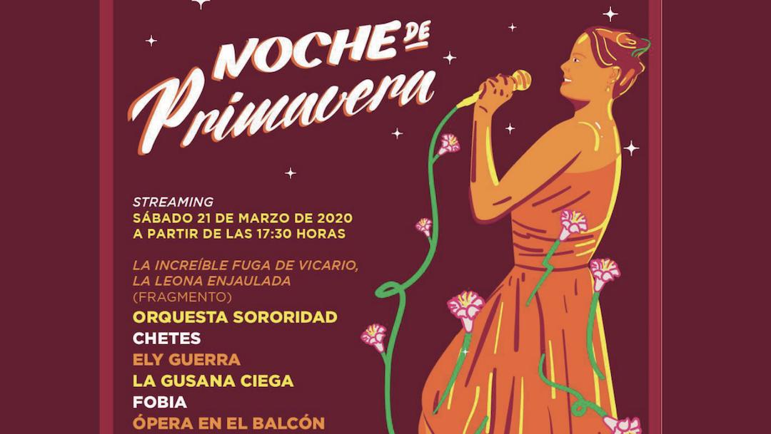 Cartel Noche Primavera 19 Marzo 2020