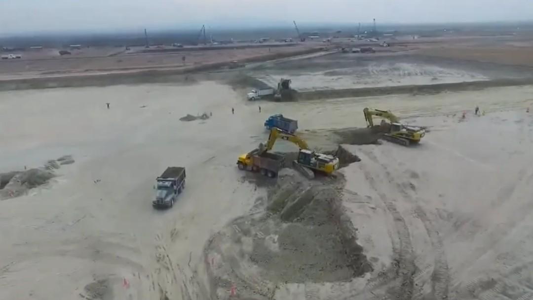 Foto: Para este año, preparación operacional de aeropuerto de Santa Lucía