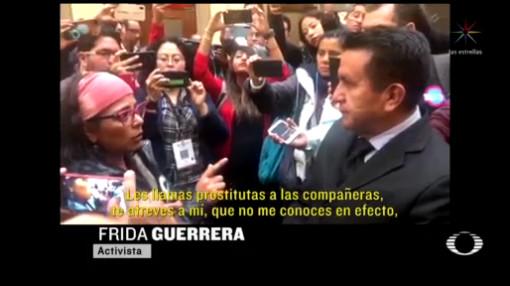 Foto: Periodista Pide Investigación Respecto Paro Nacional Mujeres 4 Marzo 2020